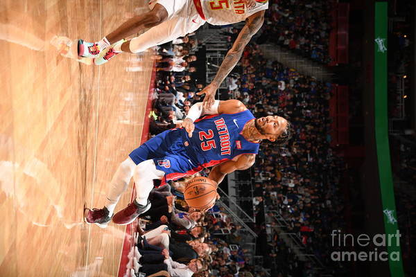 Nba Pro Basketball Art Print featuring the photograph Derrick Rose by Chris Schwegler