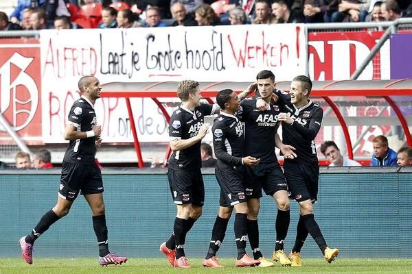 Netherlands Art Print featuring the photograph Dutch Eredivisie - FC Twente v AZ Alkmaar by VI-Images