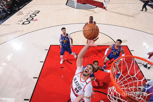 Nba Pro Basketball Art Print featuring the photograph Enes Kanter by Sam Forencich