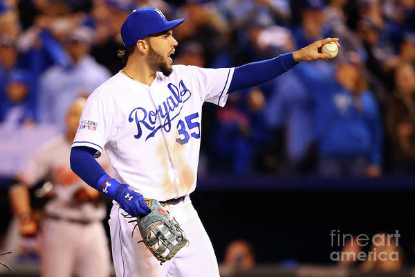 People Art Print featuring the photograph Eric Hosmer by Dilip Vishwanat