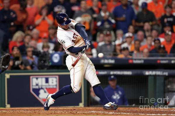 People Art Print featuring the photograph George Springer by Christian Petersen