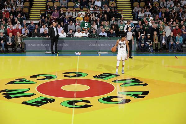Nba Pro Basketball Art Print featuring the photograph Giannis Antetokounmpo by Nba Photos