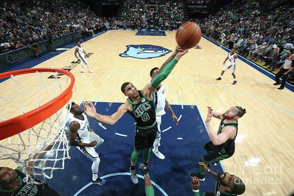 Nba Pro Basketball Art Print featuring the photograph Jayson Tatum by Joe Murphy