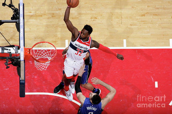 Nba Pro Basketball Art Print featuring the photograph Jeff Green by Ned Dishman