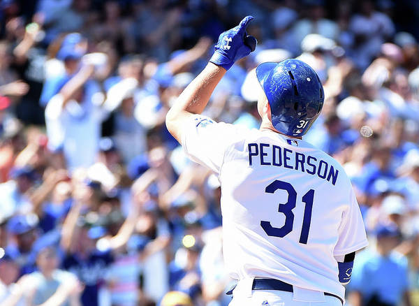 People Art Print featuring the photograph Joc Pederson by Harry How