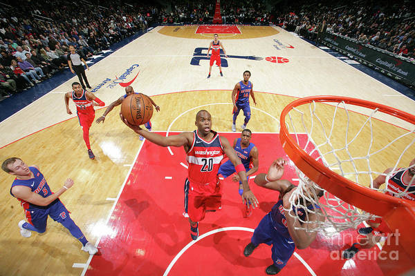 Jodie Meeks Art Print featuring the photograph Jodie Meeks by Ned Dishman
