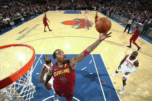 Nba Pro Basketball Art Print featuring the photograph J.r. Smith by Nathaniel S. Butler