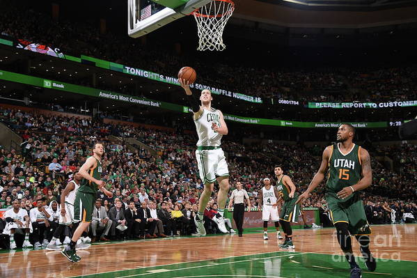 Nba Pro Basketball Art Print featuring the photograph Kelly Olynyk by Brian Babineau