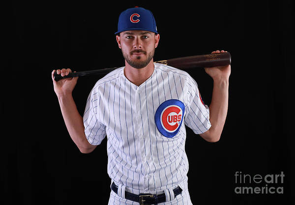 Media Day Art Print featuring the photograph Kris Bryant by Gregory Shamus