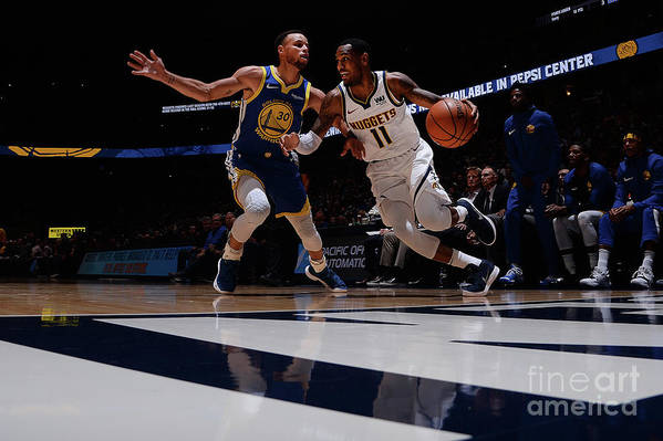 Nba Pro Basketball Art Print featuring the photograph Monte Morris by Bart Young