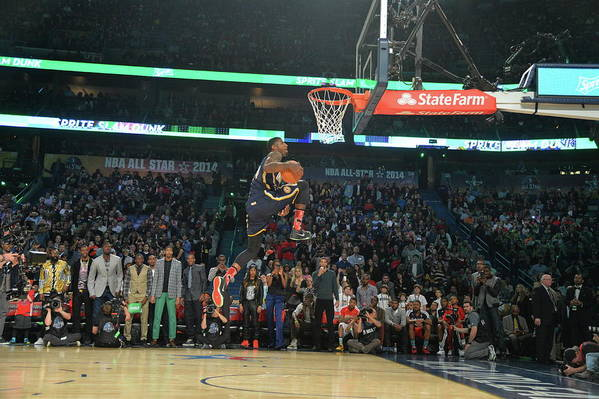 Smoothie King Center Art Print featuring the photograph Paul George by Jesse D. Garrabrant