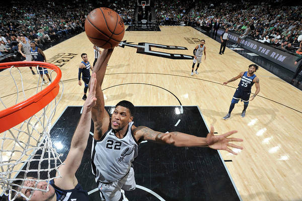 Nba Art Print featuring the photograph Rudy Gay by Mark Sobhani