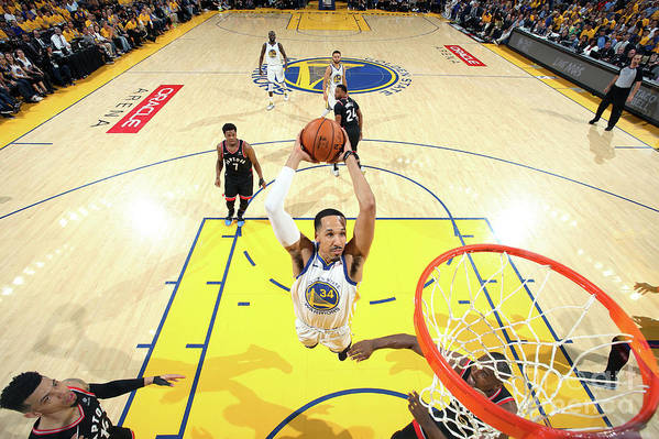 Playoffs Art Print featuring the photograph Shaun Livingston by Nathaniel S. Butler