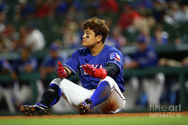 Ninth Inning Art Print featuring the photograph Shin-soo Choo by Rick Yeatts