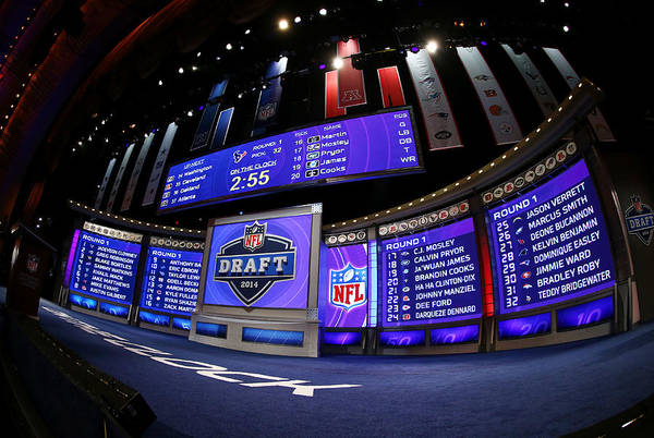 Nfl Draft Art Print featuring the photograph 2014 NFL Draft by Elsa