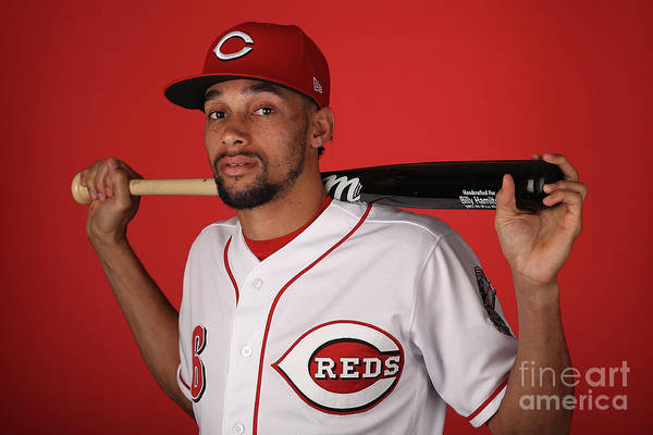 Media Day Art Print featuring the photograph Billy Hamilton by Christian Petersen