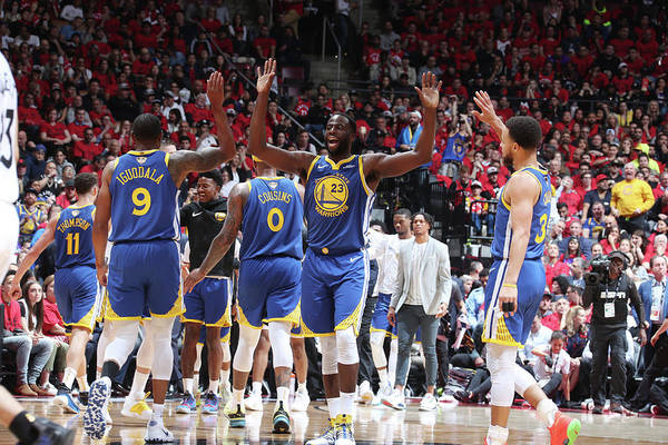 Playoffs Art Print featuring the photograph Draymond Green by Nathaniel S. Butler