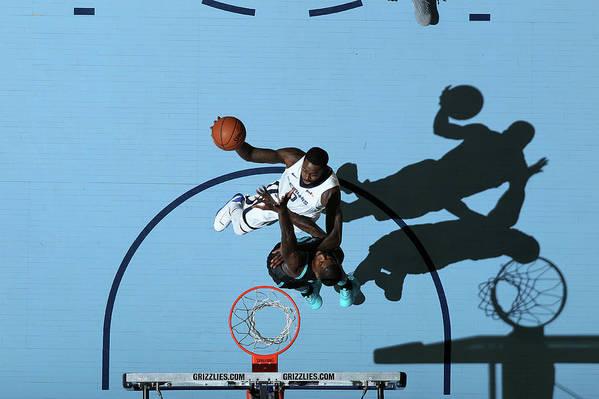 Nba Pro Basketball Art Print featuring the photograph Jamychal Green by Joe Murphy