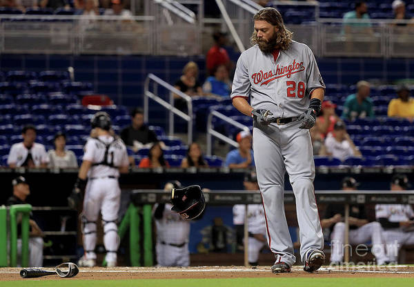 People Art Print featuring the photograph Jayson Werth by Mike Ehrmann