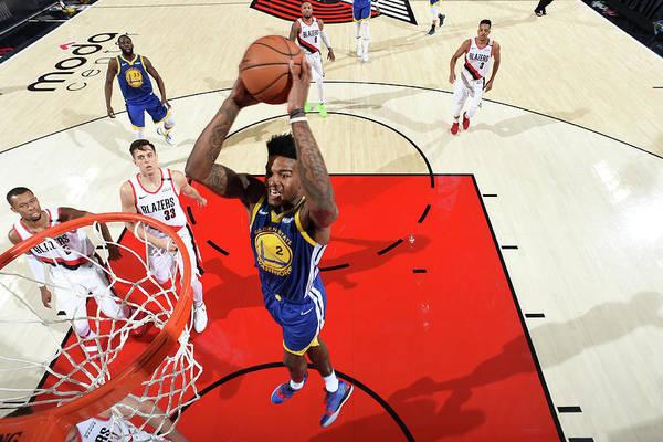 Nba Pro Basketball Art Print featuring the photograph Jordan Bell by Andrew D. Bernstein