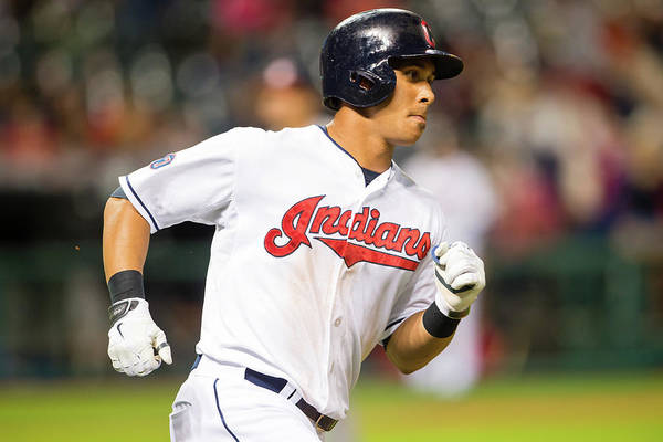 People Art Print featuring the photograph Michael Brantley by Jason Miller