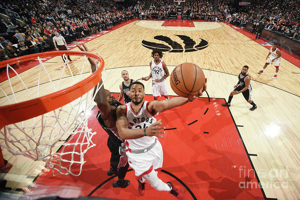 Nba Pro Basketball Art Print featuring the photograph Norman Powell by Ron Turenne
