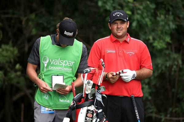 Patrick Reed Art Print featuring the photograph Valspar Championship - Final Round by Sam Greenwood