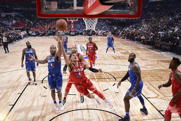 Nba Pro Basketball Art Print featuring the photograph 69th NBA All-Star Game by Jesse D. Garrabrant