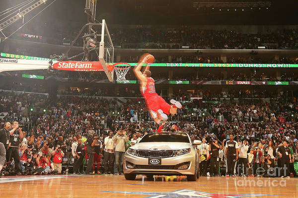 Kia Art Print featuring the photograph Blake Griffin by Nathaniel S. Butler