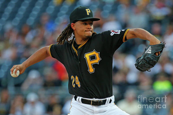 Three Quarter Length Art Print featuring the photograph Chris Archer by Justin K. Aller