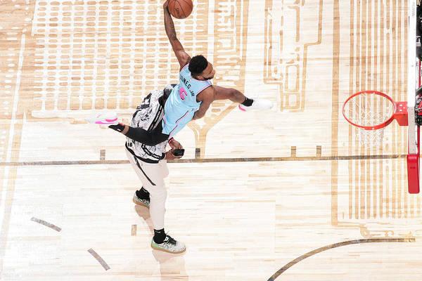 Nba Pro Basketball Art Print featuring the photograph Derrick Jones by Nathaniel S. Butler