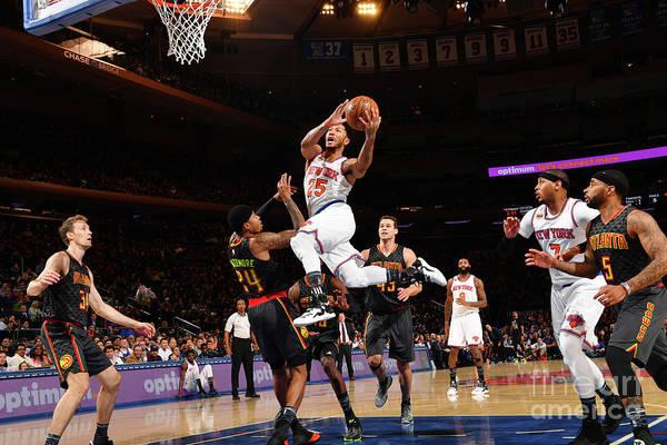 Nba Pro Basketball Art Print featuring the photograph Derrick Rose by Jesse D. Garrabrant
