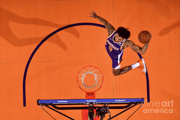 Nba Pro Basketball Art Print featuring the photograph Kelly Oubre by Barry Gossage