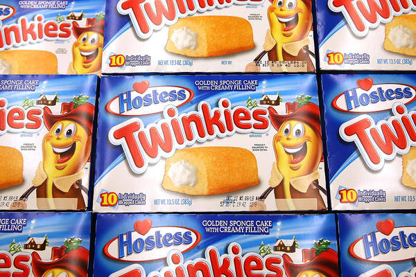 Employment And Labor Art Print featuring the photograph Last Shipment Of Hostess Twinkies Arrives In Chicago Area Stores by Scott Olson