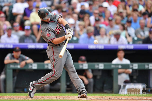 People Art Print featuring the photograph Paul Goldschmidt by Dustin Bradford