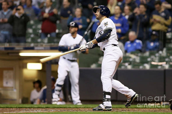 Ninth Inning Art Print featuring the photograph Ryan Braun by Dylan Buell