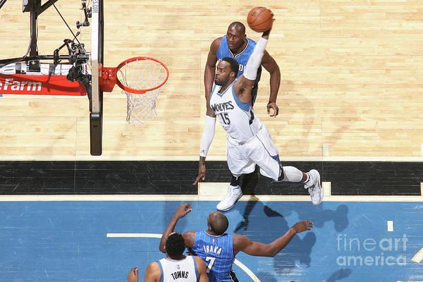Nba Pro Basketball Art Print featuring the photograph Shabazz Muhammad by David Sherman
