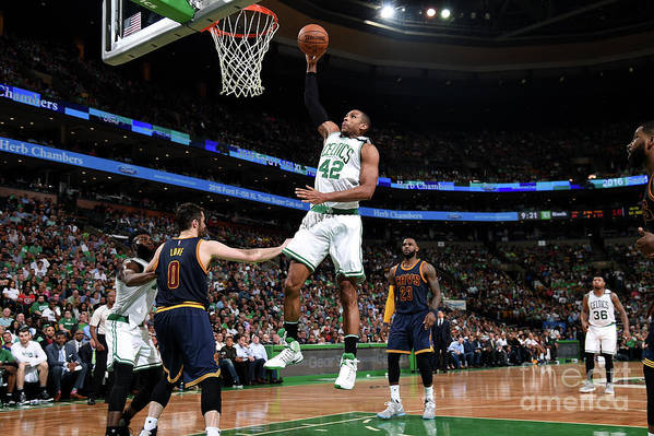 Playoffs Art Print featuring the photograph Al Horford by Brian Babineau