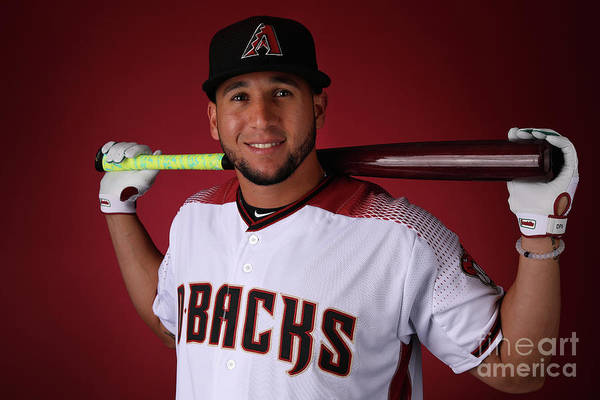 Media Day Art Print featuring the photograph David Peralta by Christian Petersen