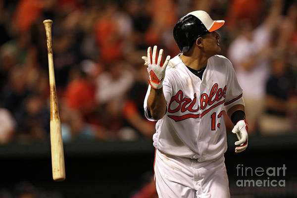 Three Quarter Length Art Print featuring the photograph Manny Machado by Patrick Smith