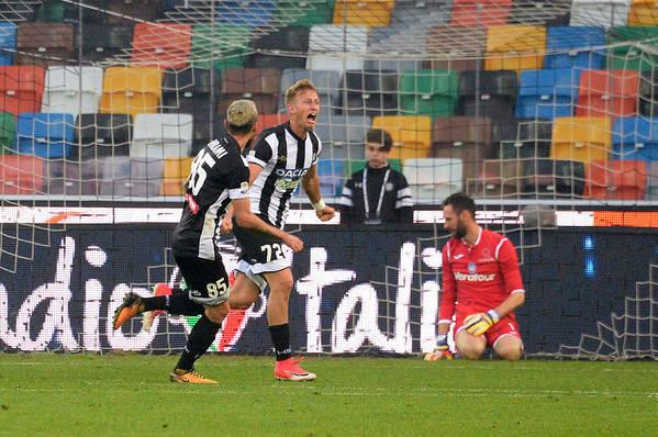 Udine Art Print featuring the photograph Udinese Calcio v Atalanta BC - Serie A by Dino Panato