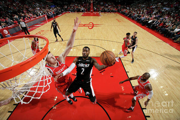 Nba Pro Basketball Art Print featuring the photograph John Wall by Ned Dishman