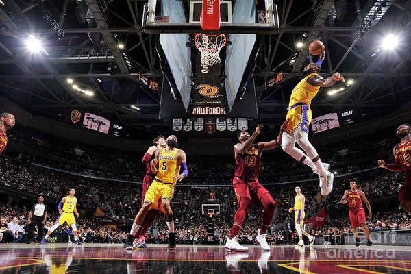 Nba Pro Basketball Art Print featuring the photograph Lebron James by David Liam Kyle