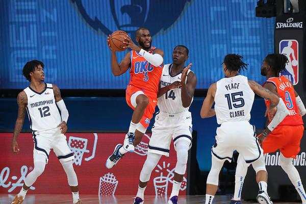 Nba Pro Basketball Art Print featuring the photograph Chris Paul by Joe Murphy