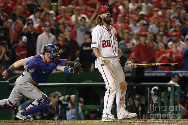 Ninth Inning Art Print featuring the photograph Jayson Werth by Patrick Smith