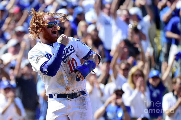 Three Quarter Length Art Print featuring the photograph Justin Turner by Harry How