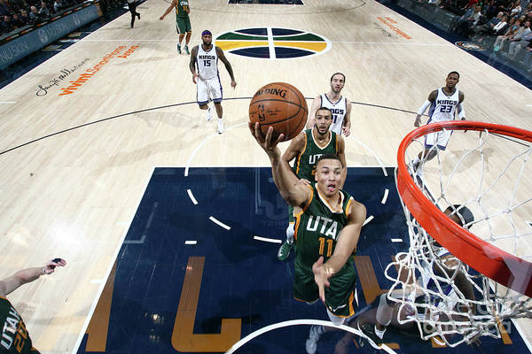 Nba Pro Basketball Art Print featuring the photograph Dante Exum by Melissa Majchrzak