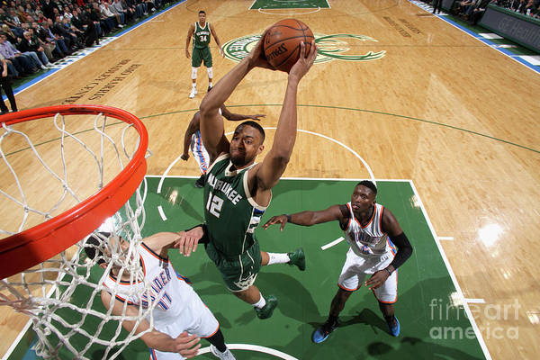 Nba Pro Basketball Art Print featuring the photograph Jabari Parker by Gary Dineen