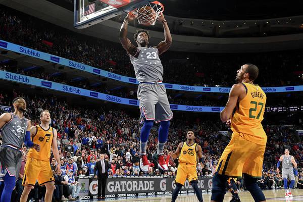 Nba Pro Basketball Art Print featuring the photograph Jimmy Butler by Jesse D. Garrabrant