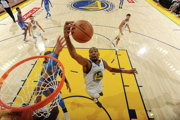 Nba Pro Basketball Art Print featuring the photograph Kevin Durant by Andrew D. Bernstein